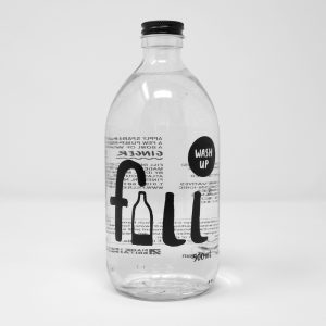 Photo of bottle of Fill washing up liquid, available as refills
